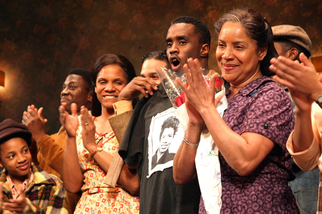 Ms. Rashad, right, on opening Night of 'A Raisin In The Sun' on Broadway in 2004.