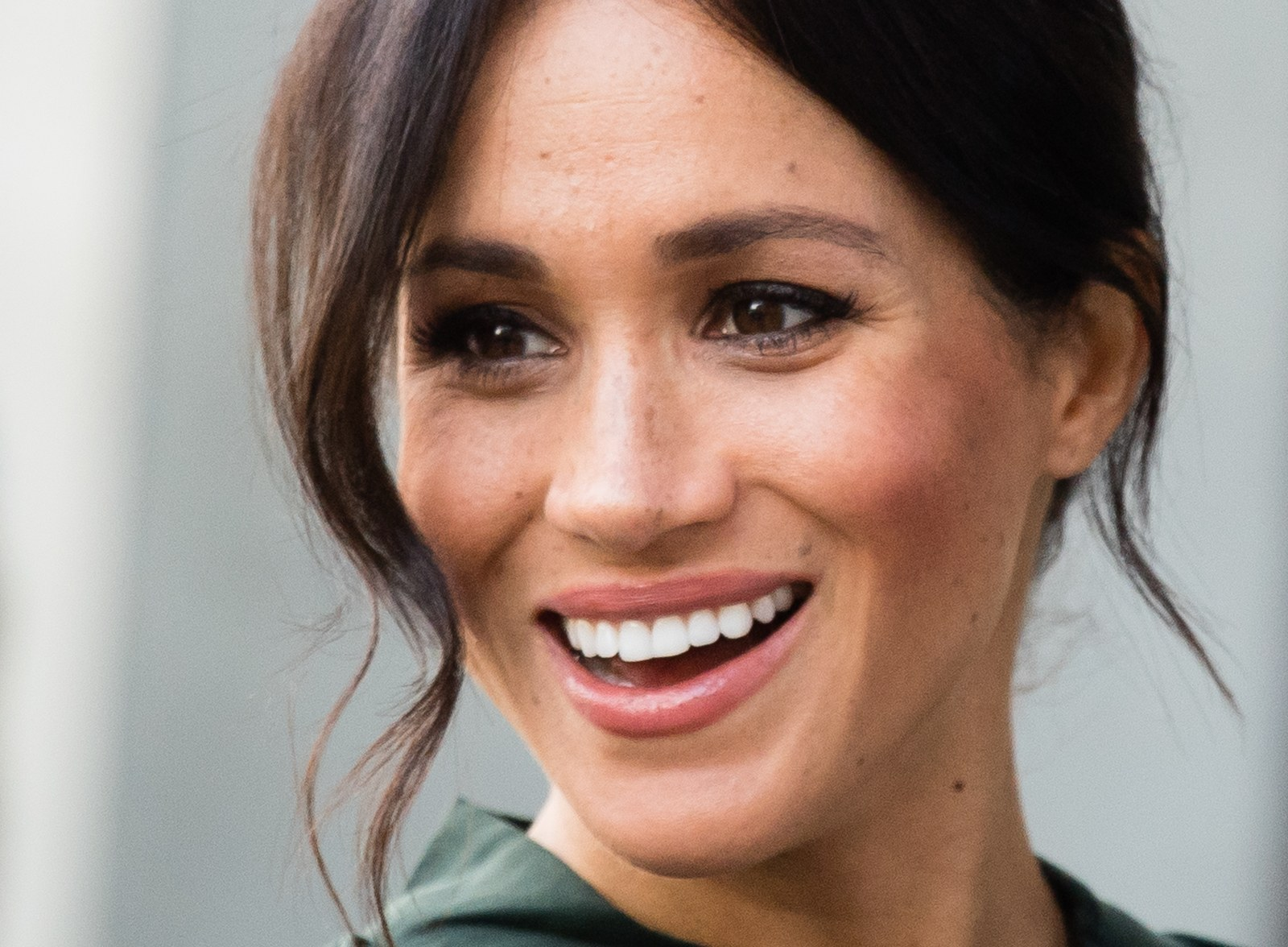 Meghan Markle visits the University of Chichester.