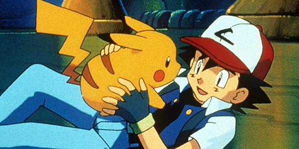 Ash Ketchum and Pikachu in Pokemon: The First Movie