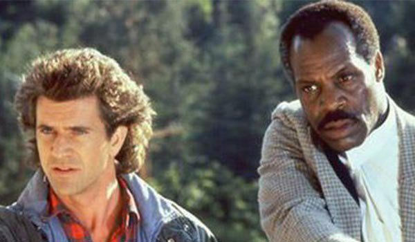 Mel Gibson and Danny Glover in Lethal Weapon