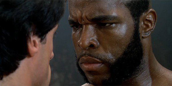 Sylvester Stallone, Mr. T - Rocky III